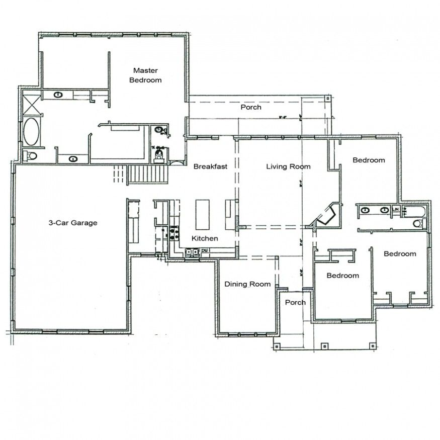 Architecture Houses Drawings tips to make custom house plan | hunt home design | pinterest