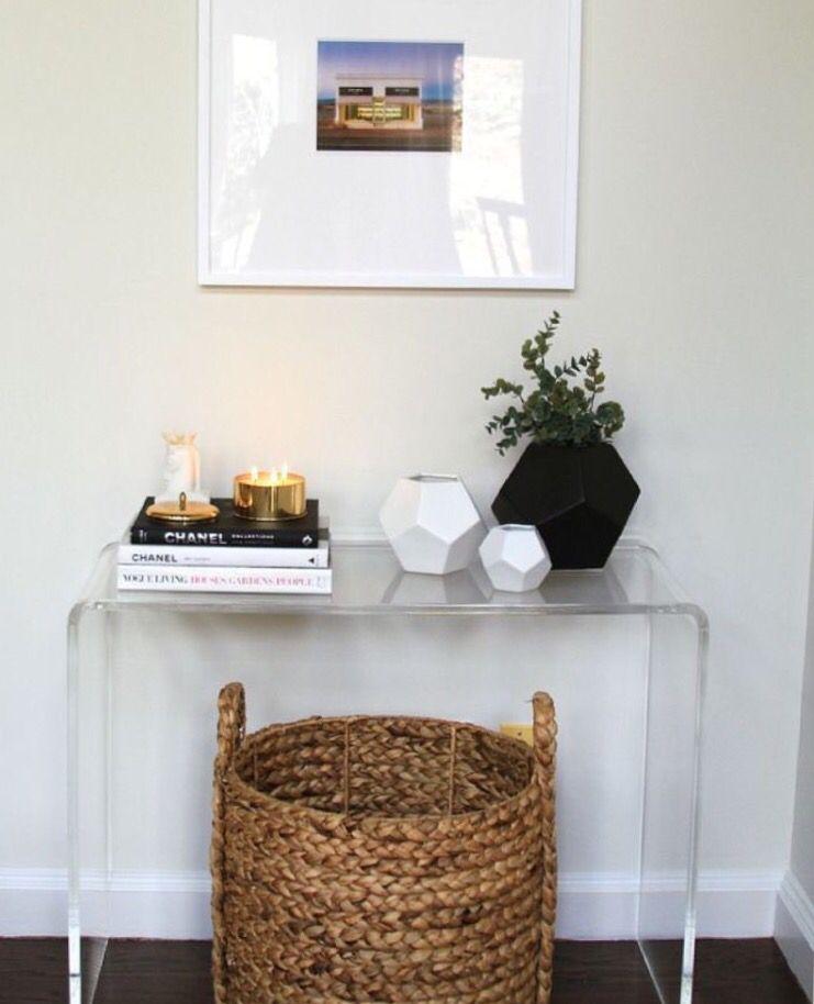 Elegant Corner Hall Table