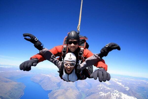 Luxury New Zealand On New Zealand Skydiving Photo