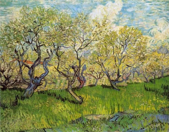 Αφιερώματα: Άνοιξη. Ένα από τα αγαπημένα θέματα του διάσημου ζωγράφου Βίνσεντ βαν Γκογκ
