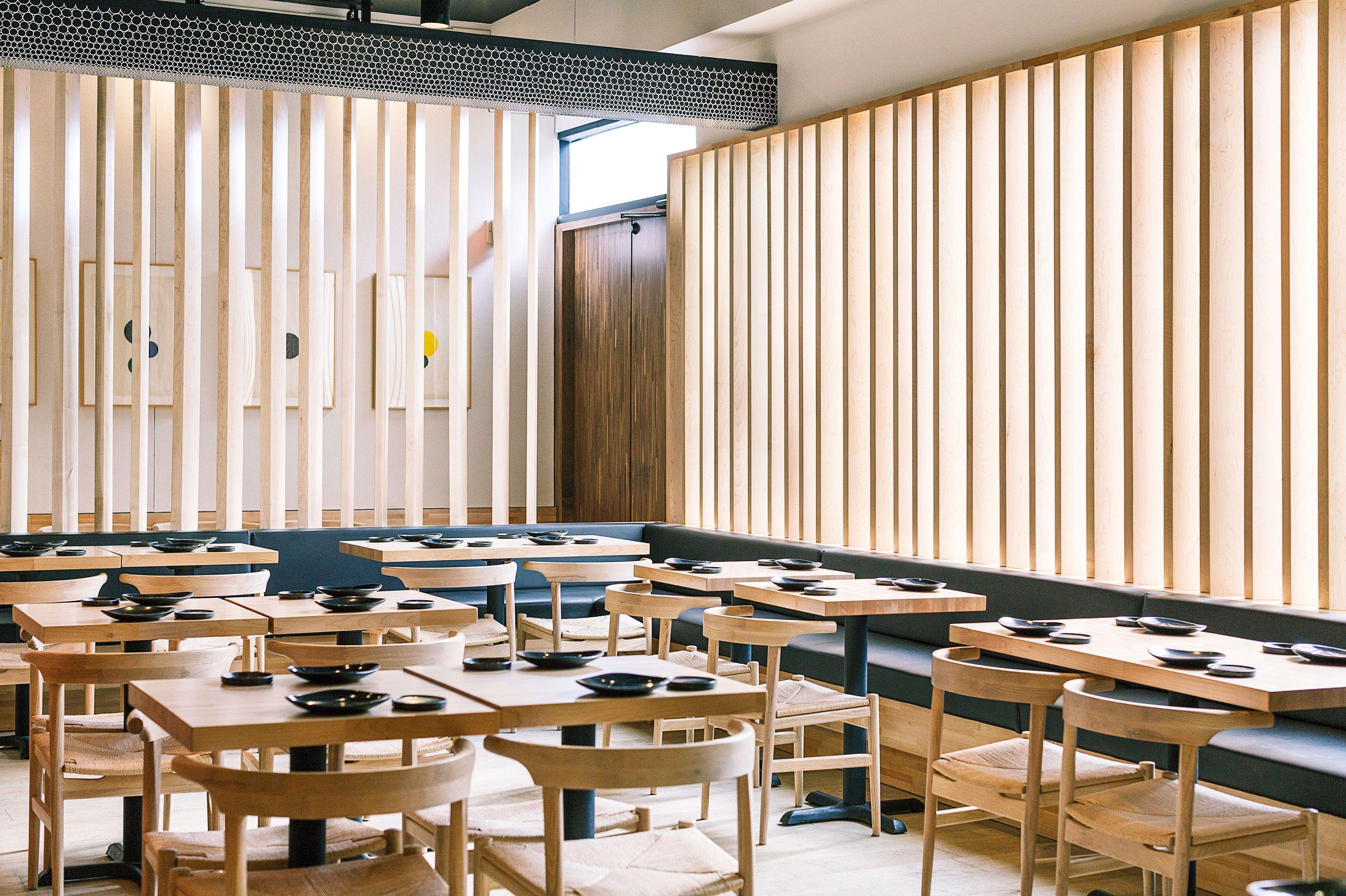 4 Design Focused Japanese Restaurants in L A