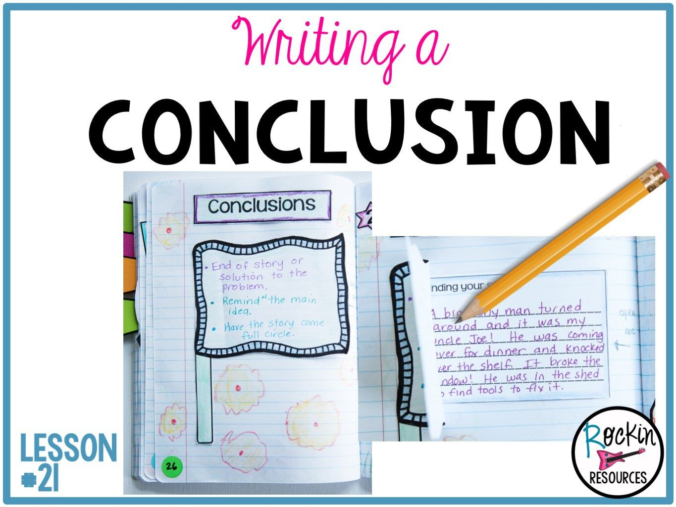 the meaning of conclusion