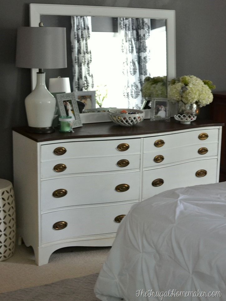 20 Decorating Tricks For Your Bedroom Pinterest Mirror Makeover Master Bedroom And Dresser