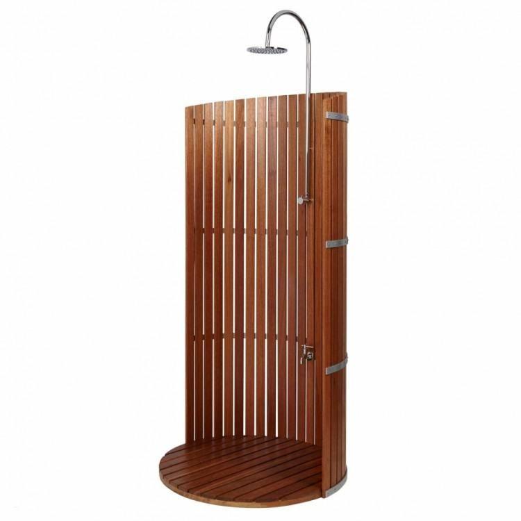 U Shaped Outdoor Shower Rod Shower Panels Shower Remodel Diy