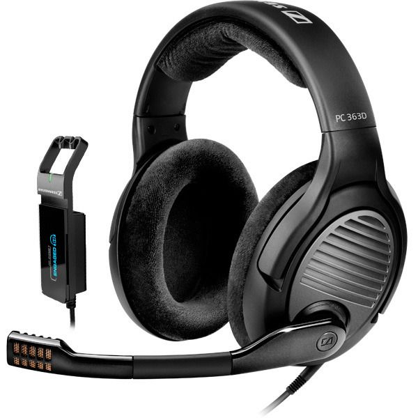 Sennheiser PC 363D - 7 1 Dolby Surround Sound, noise-cancelling