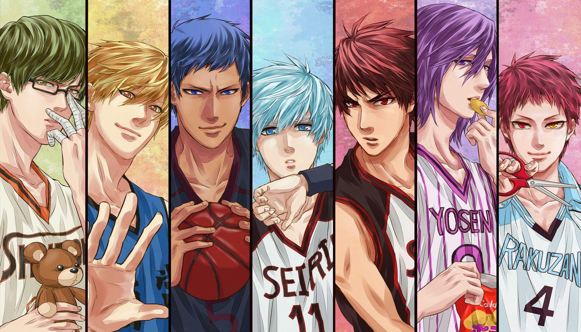 kuroko no basket อะนิเมะ