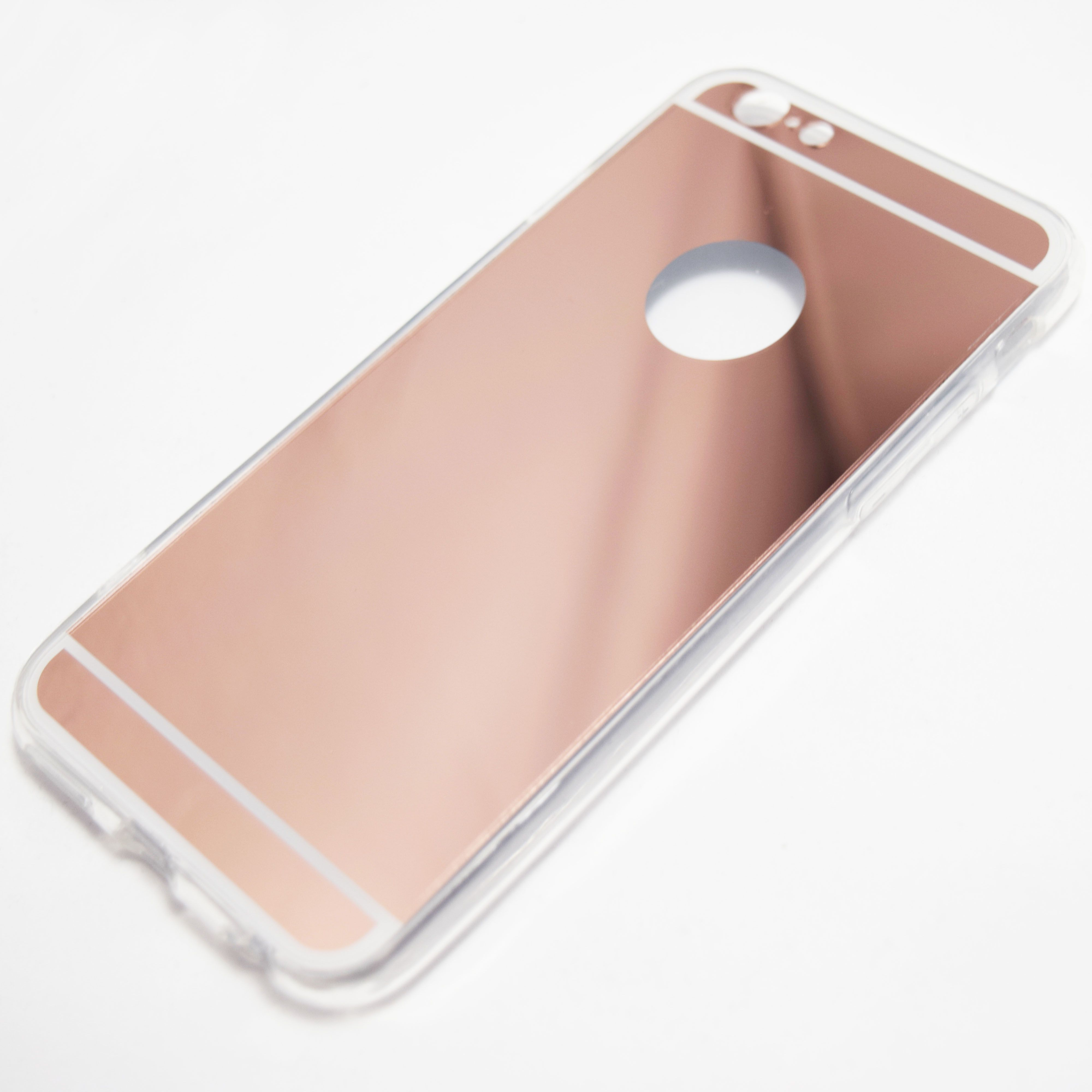 Rose Gold iPhone 6 iPhone 6S Reflective Mirror Case