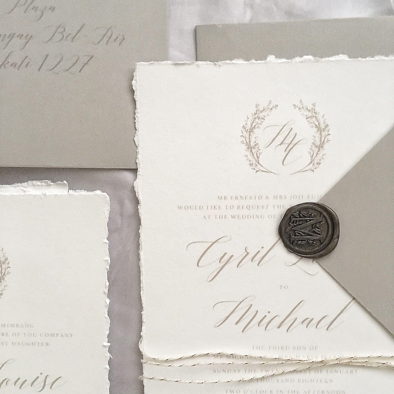 Wedding Invitations Bespoke Invitation Love Invitations