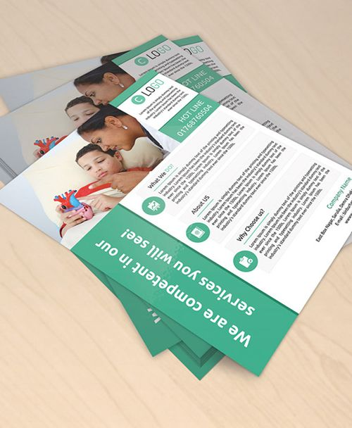 Free Flyer Mockup Psdmockups Businesscardmockups Mockupdesign Freepsdfiles Freebies Brandingmockups