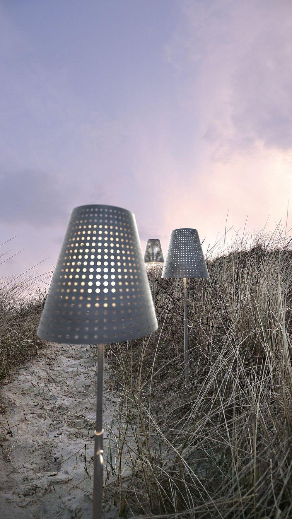 Industrielle Stehlampe Weglampe Fuse Garten Lampe