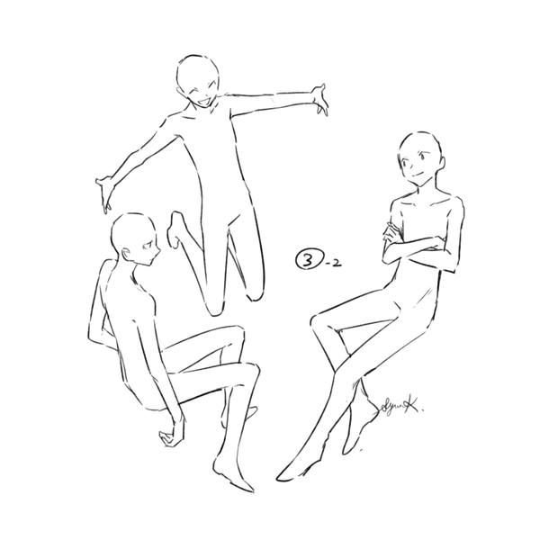 Thinking Of The Thug Trio Of Aot Person Drawing Art Reference Poses Drawing Base
