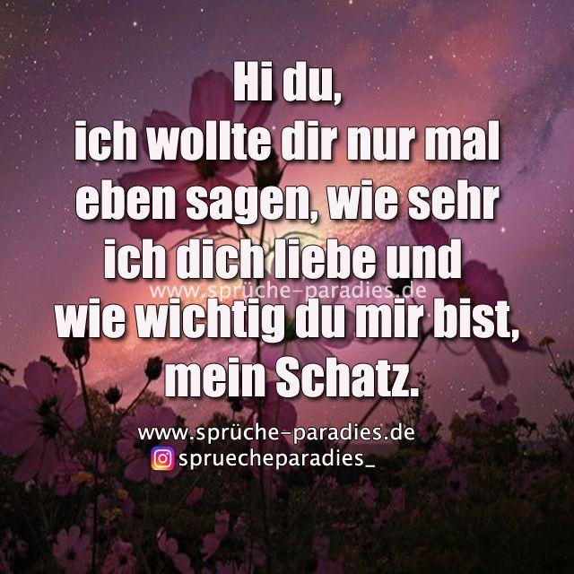 Hi du.. – Sprüche Paradies #adventskalendermann