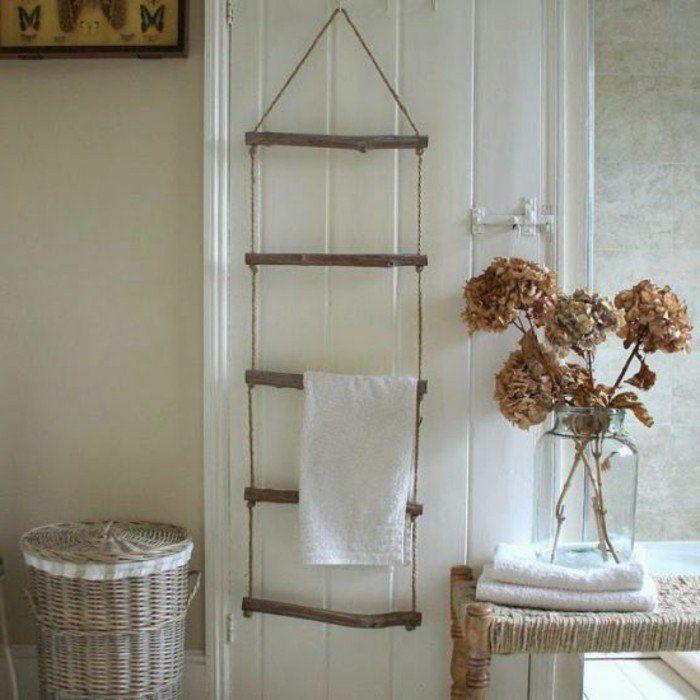 Le porte serviette en 40 photos d idées pour votre salle de bain