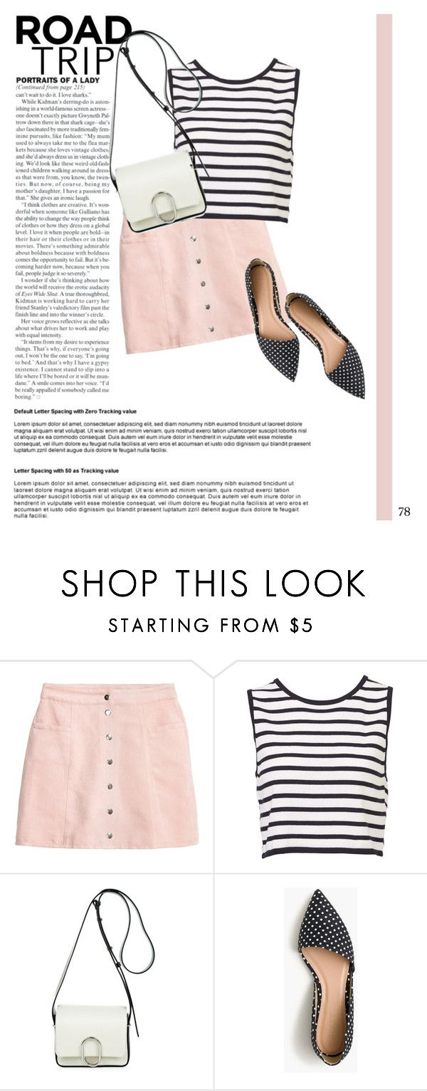 """Road Trip"" by alexa-anita2010 ❤ liked on Polyvore featuring 3.1 Phillip Lim, J.Crew and roadtrip"