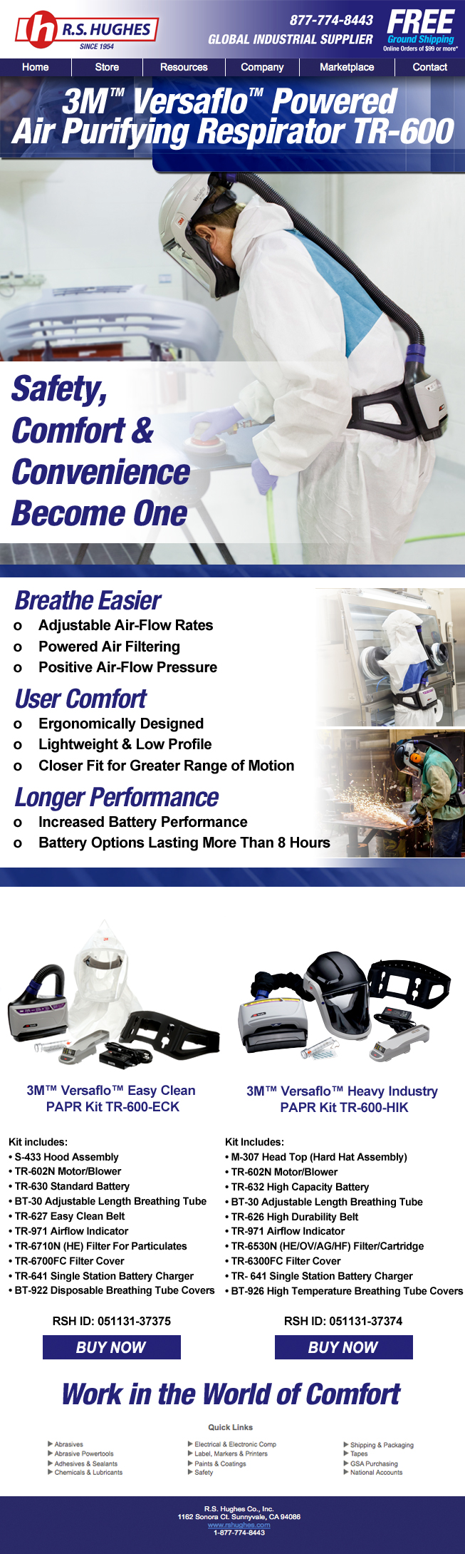 Work In The World Of Comfort Breathe Easy With The 3m Versaflo Powered Air Purifying Respirator System These Respirators Of Air Purifier Purifier Breathe Easy