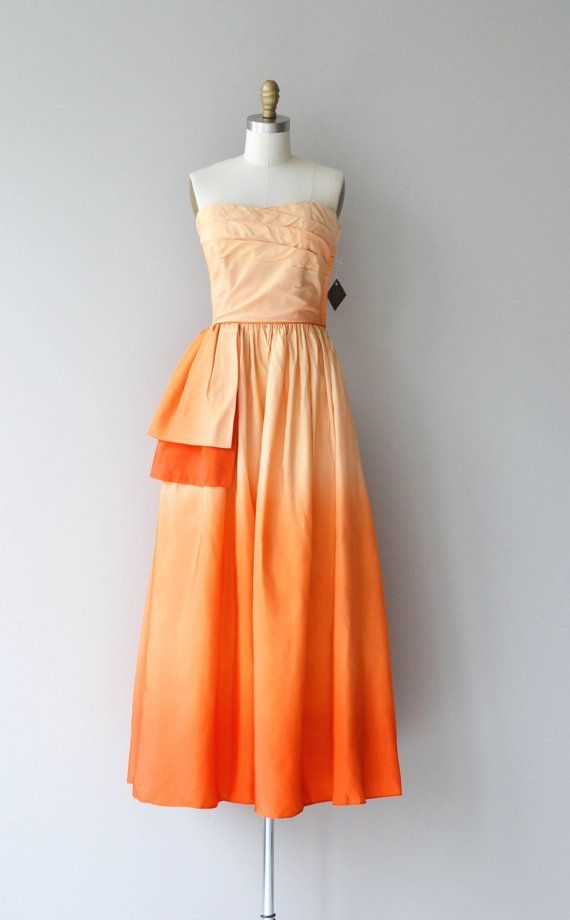 Alba Tramonto Kleid Jahrgang 1950 s Kleid von DearGolden ...