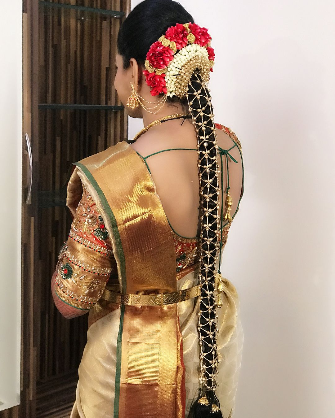 Kerala Party Hairstyles: South Indian Bride Hairstyle Image By Hemalatha Reddy On