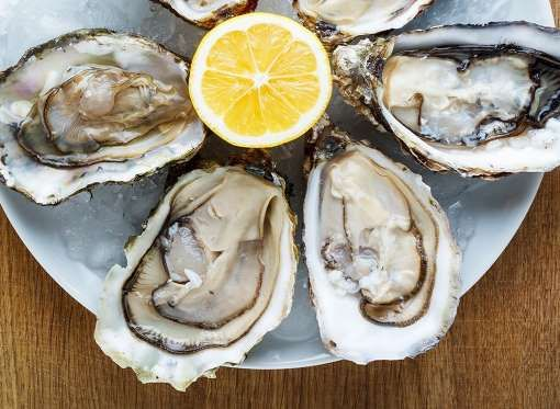 shellfish in general is an excellent source of zinc calcium copper iodine iron potassium and provided by best life