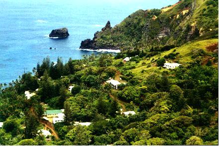 Adamstown Pitcairn Islands Pitcairn Pinterest Pacific Ocean - Pitcairn island one beautiful places earth