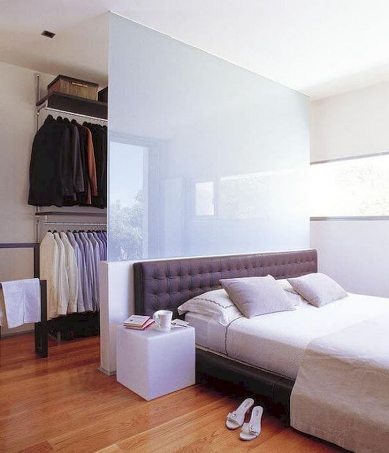 Stylish Storage Ideas For Small Bedrooms: 90+ Luxury Room Divider Ideas For Small Spaces #room