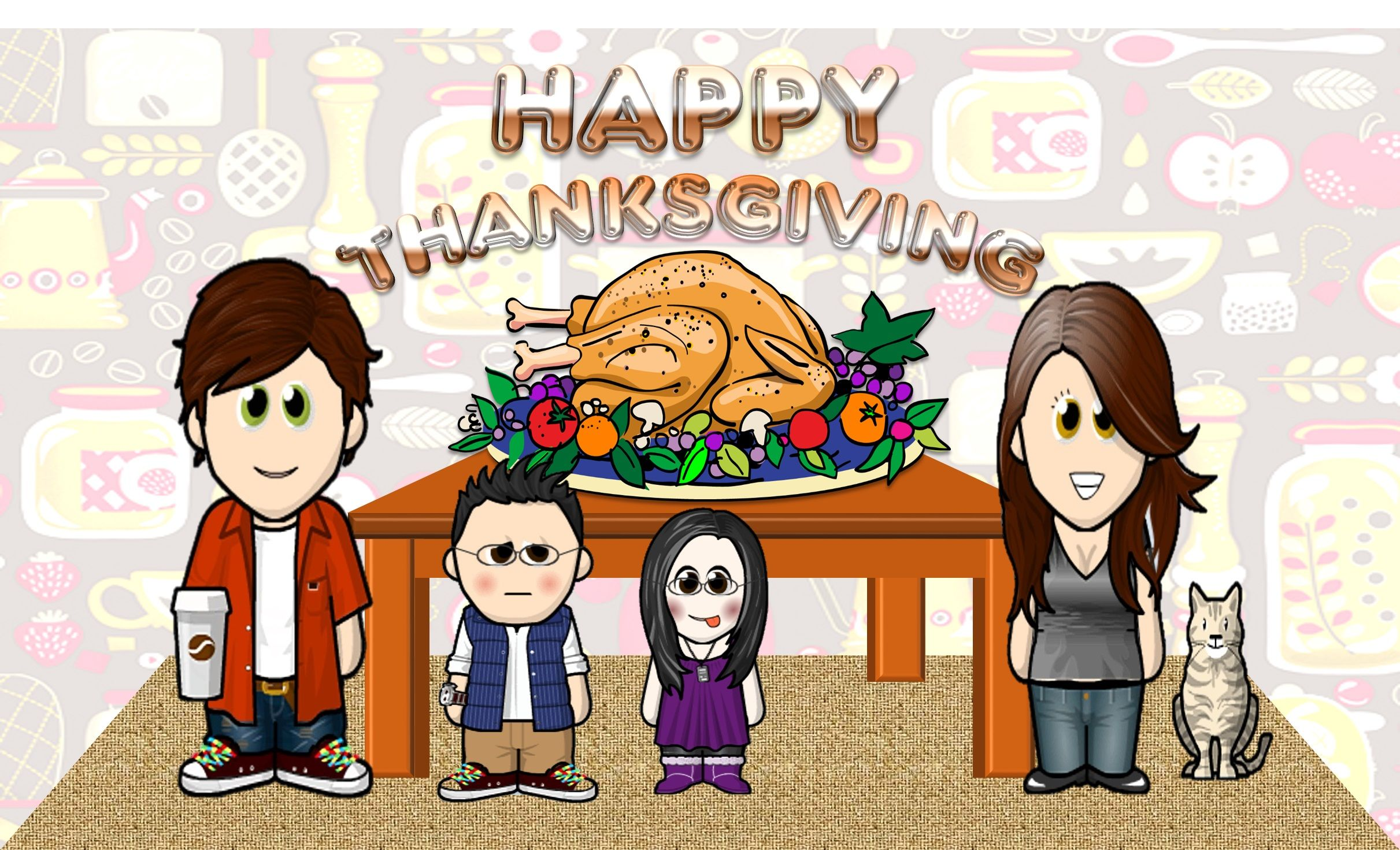 Happy Thanksgiving To All In North America And Across The