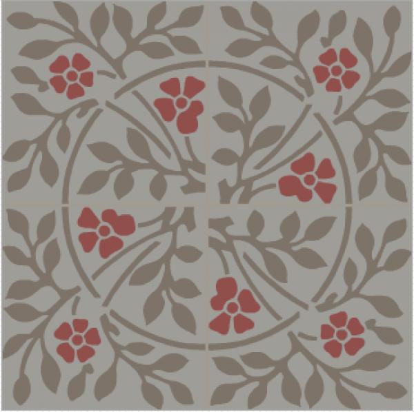 Fabuleux carrelage ciment bastide rouge | Décoration intérieure | Pinterest  CO35