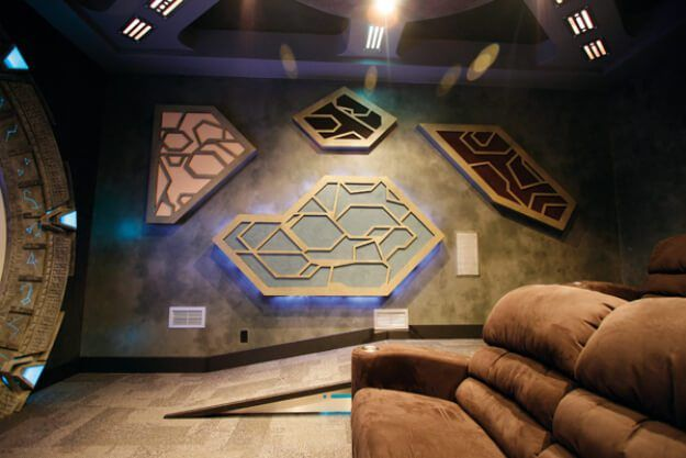 Stargate Atlantis Home Theater - Bundle of Ideas | Crazy things to