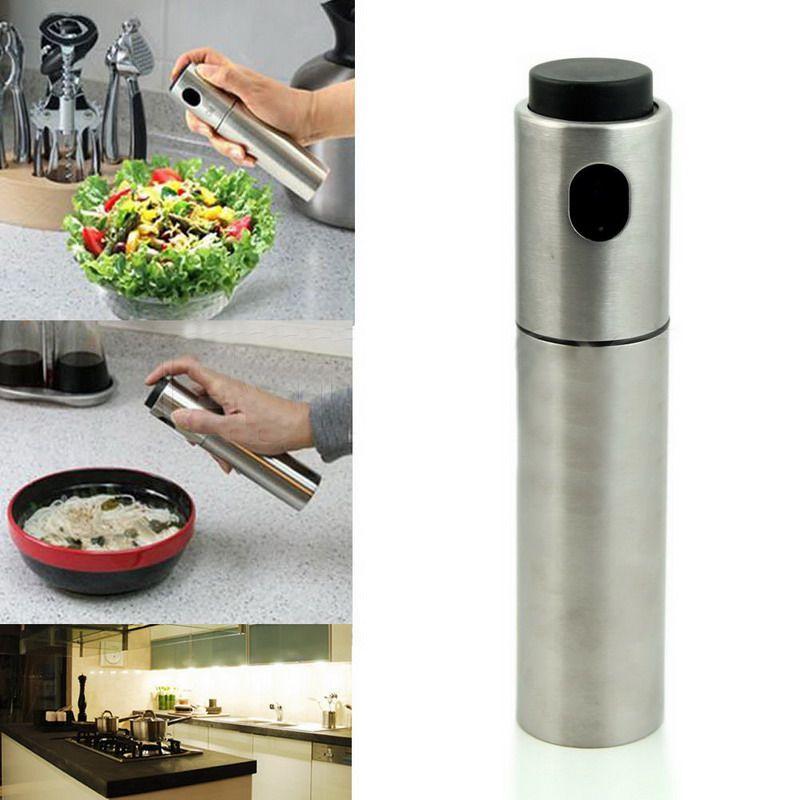 En acier inoxydable pompe de pulv risation fine brume for Vaporisateur cuisine