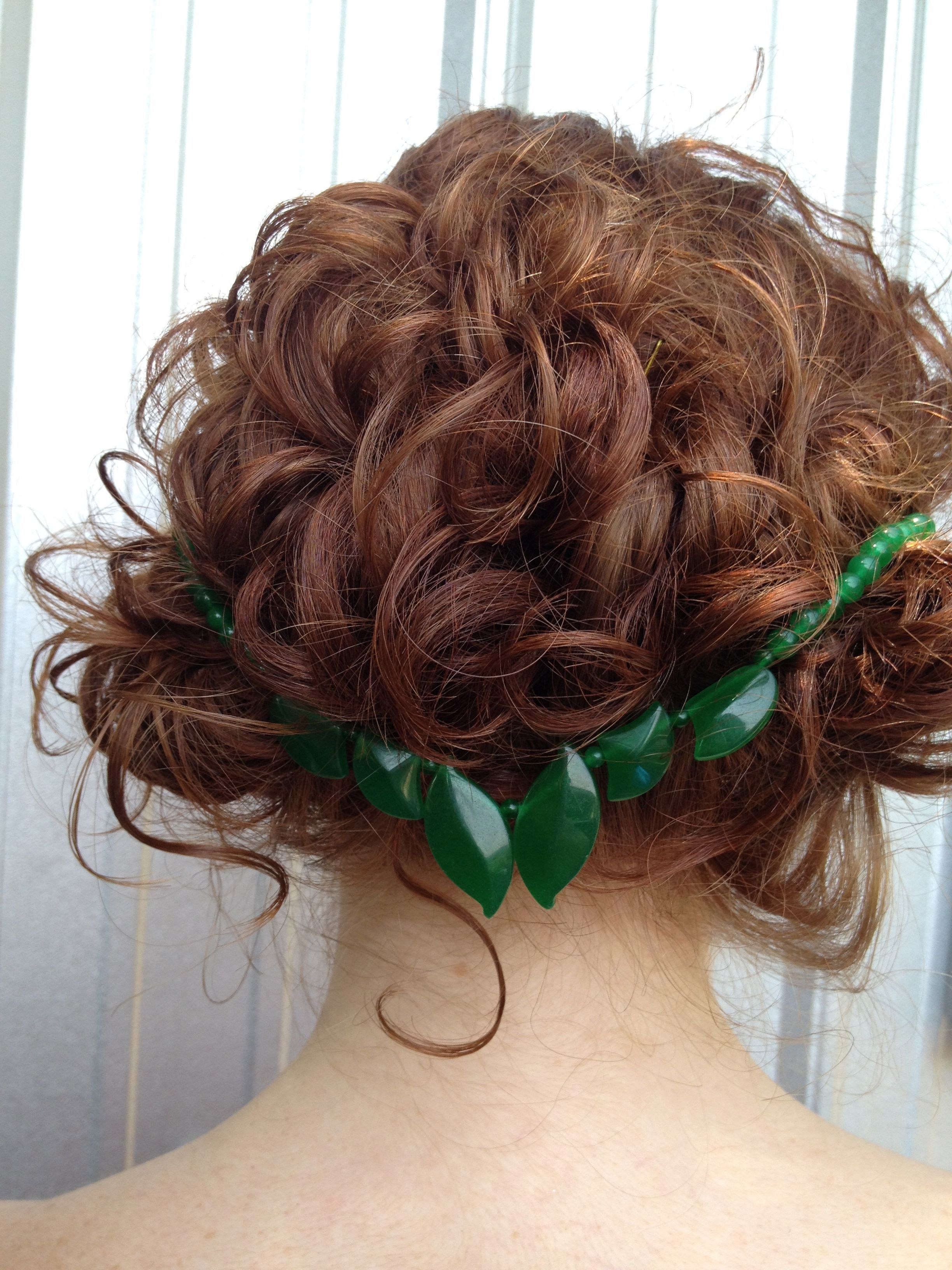Curly hair up do for more inspired curly hairstyles