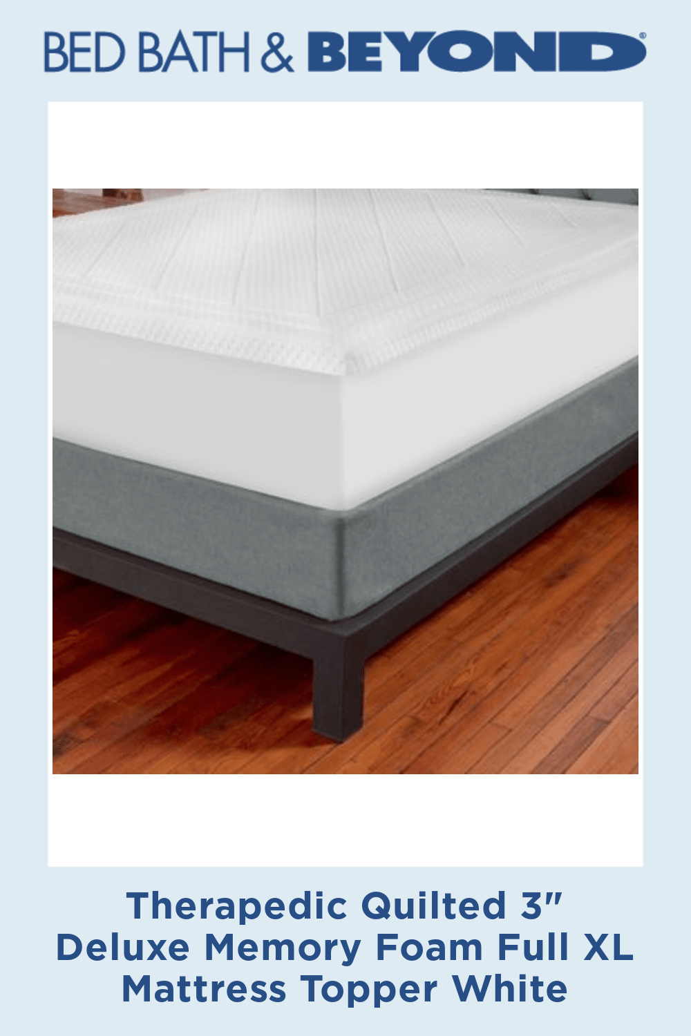 Pin On Ideas For The House Full xl memory foam mattress