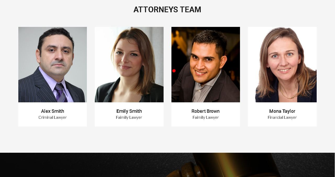 Deluxe Attorney Website Affordable Website Design Marketing Solution Top Web Designs