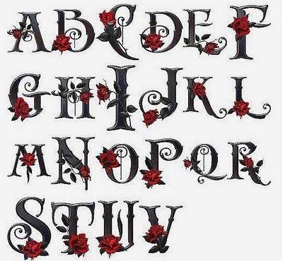 56 Jpg Desenho De Letras A Mao Fontes De Letras Diferentes Tatuagem Com Iniciais