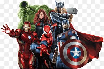 Marvel Avengers Illustration Captain America Spider Man Marvel Studios Carol Danvers Hulk Avengers Back Tigra Marvel Marvel Avengers Assemble Captain America