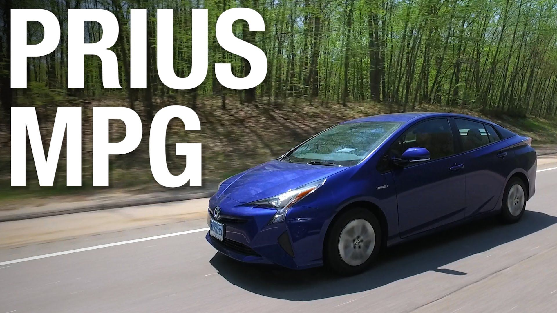 Toyota Prius Gets Record Setting 52 Mpg The Redesigned For 2016