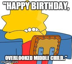 Happy Birthday, Overlooked Middle Child: An Ode to Thanksgiving #middlechildhumor