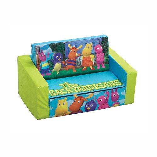 The Backyardigans Flip Open Sofa Couch Kids Sofa Couch Sofa Couch