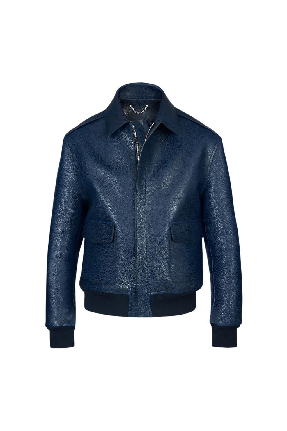 Pin On Leather Outerwear