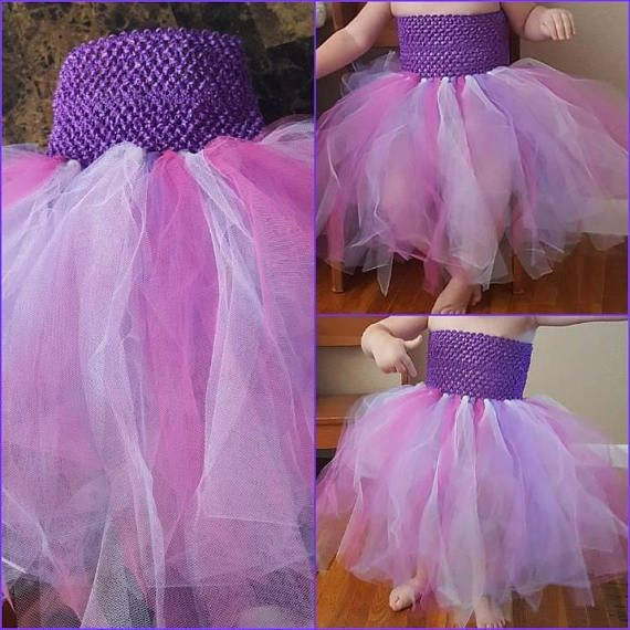Tulle Dress Tutu Dress Crochet Headband Tutu Dress Tutu Crochet