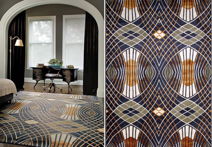 Catherine Martin Rug Collection Predicts An Art Deco
