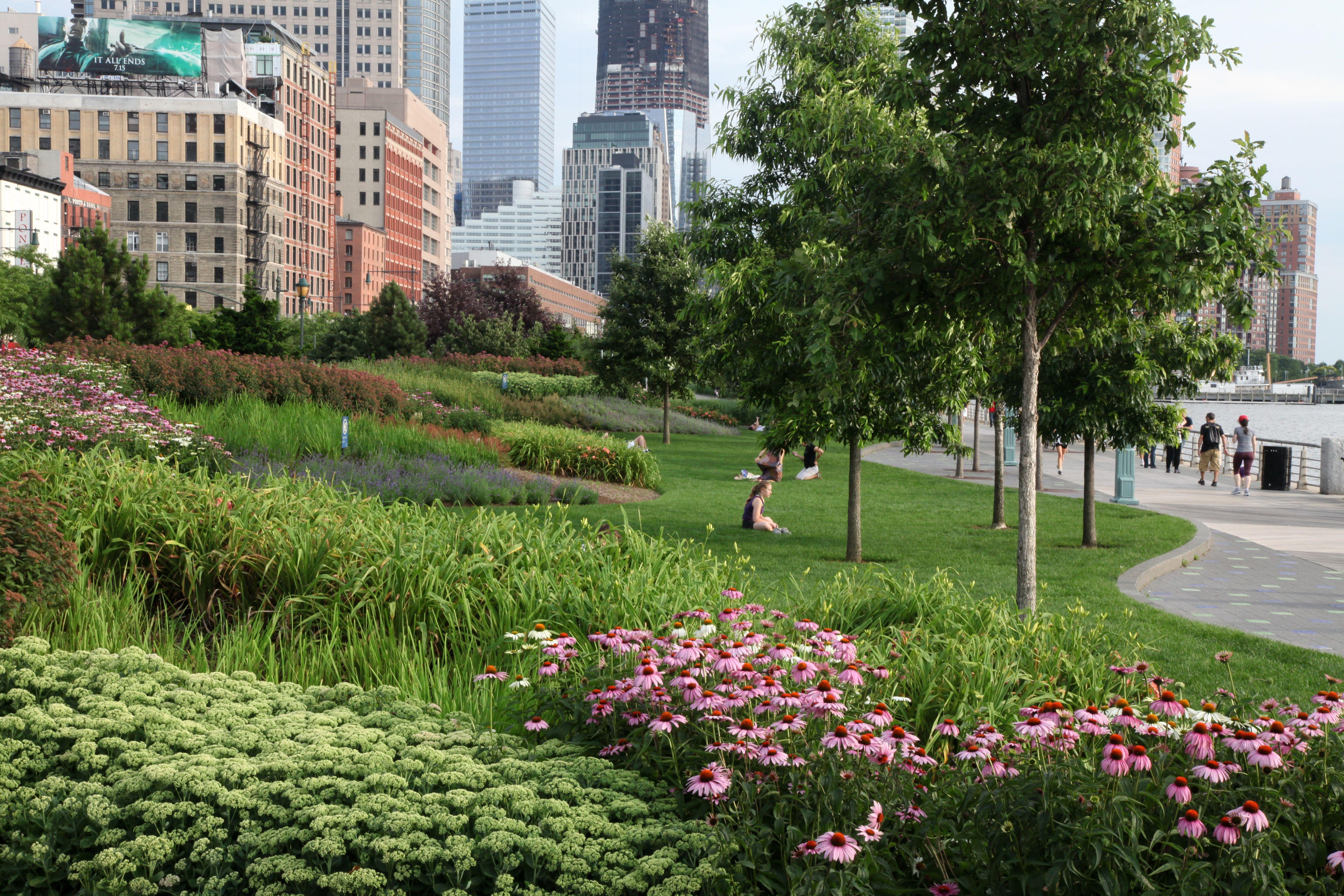 Hudson River Park; Q: Kim Mathews and Signe Nielsen ...