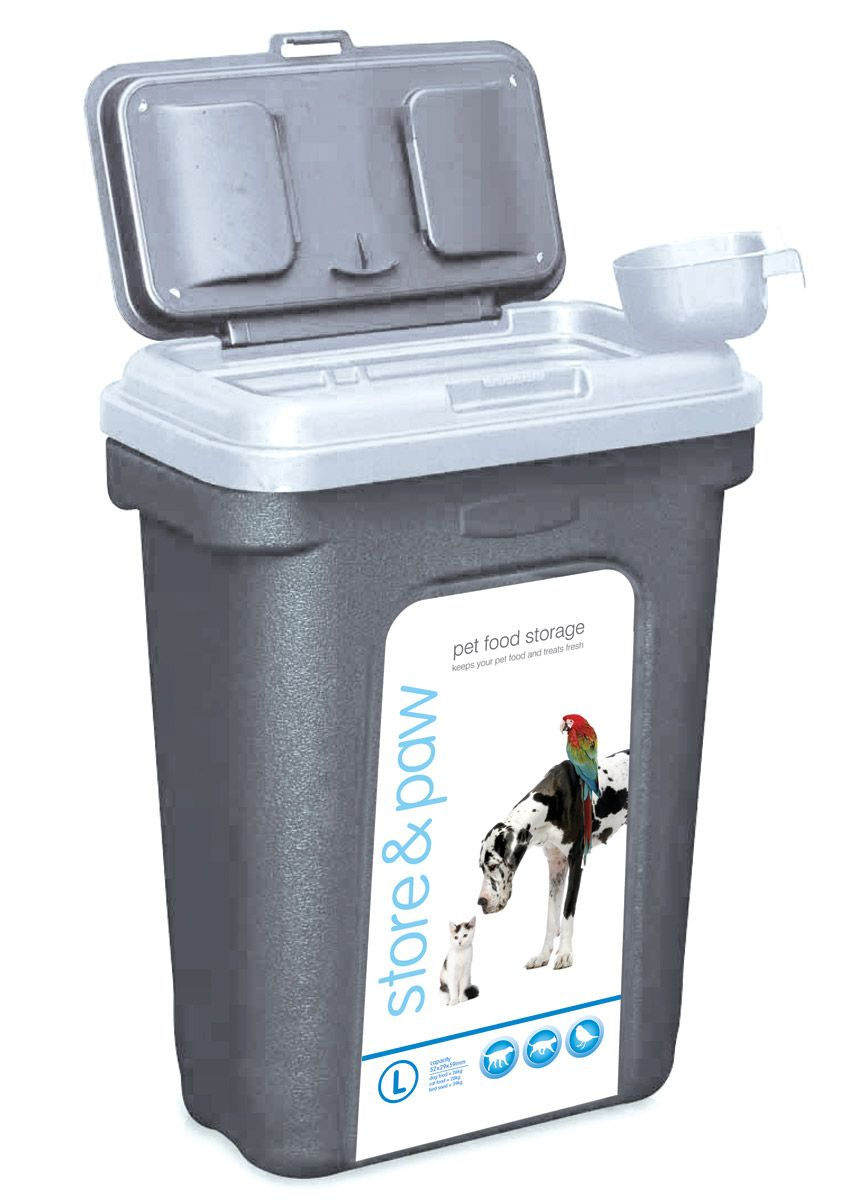 The N Paw Food Storage Bin Is Perfect Way To Keep Your Pet