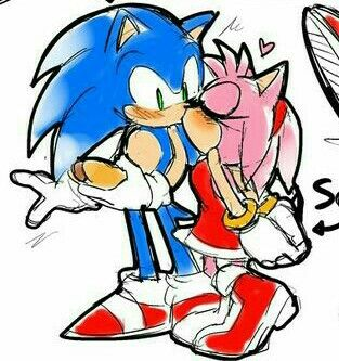 Sonic Eats Chili Dog Amy Walks Up To Him Can I Have A Bite Sonic Smiles Sure Ames Turns And Then The Picture Med Bilder