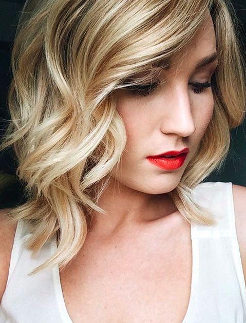Gorgeous Hair Ideas For Holiday Party Season Hair Styles Loose Curls Hairstyles Medium Hair Styles