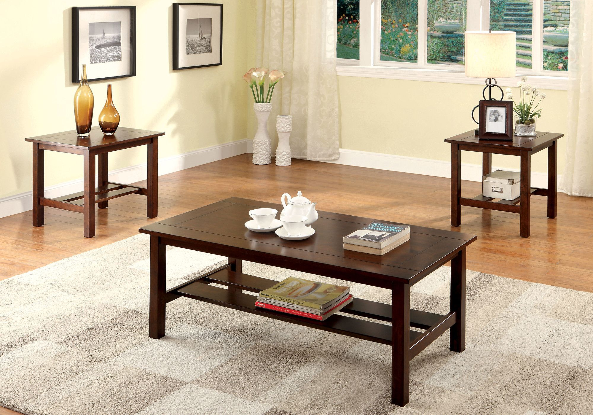 Klohe 3 Piece Coffee Table Set Products Pinterest