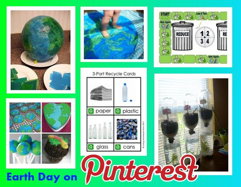Pinterest Pinboard of the Week Earth Day Therapy Activities