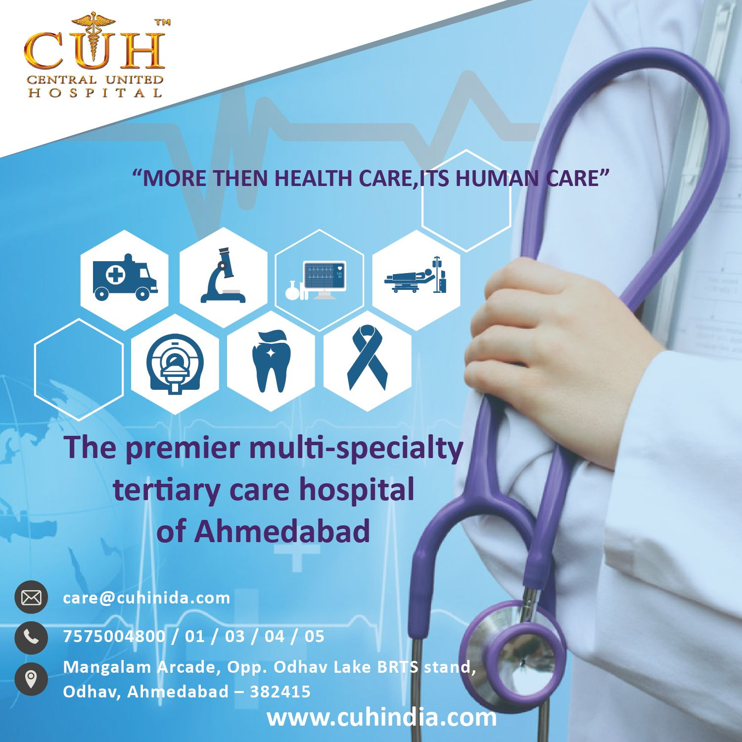 The premier MultiSpecialty tertiary care Hospital of