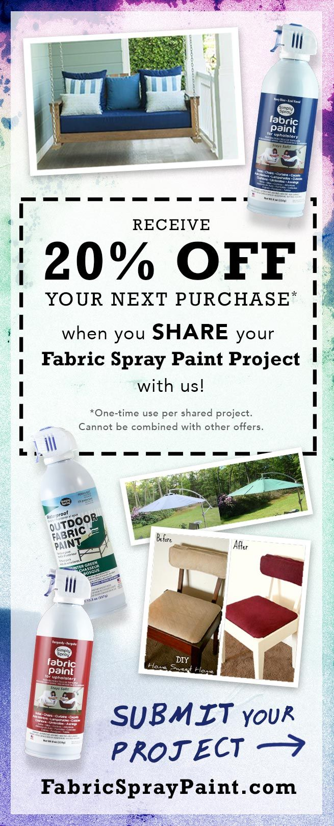 Did You Paint Awesome Furniture Fabric Spray Paint Fabric Spray Paint Fabric Paint Diy Fabric Spray