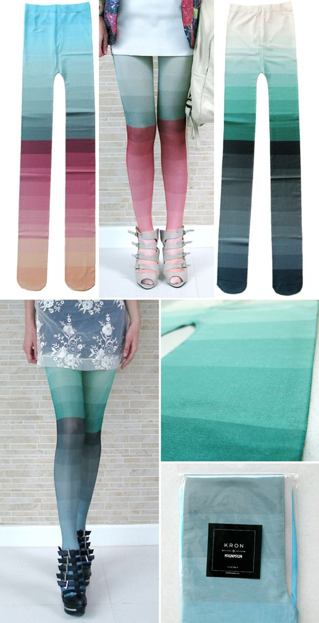 Ombre Tights, 62€ | 39 Pairs Of Statement Tights Just In Time For Fall