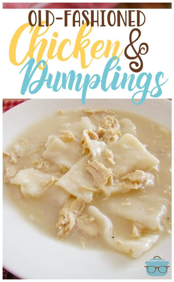 Old-Fashioned Chicken & Dumplings images