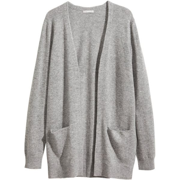 H&M Cashmere cardigan found on Polyvore